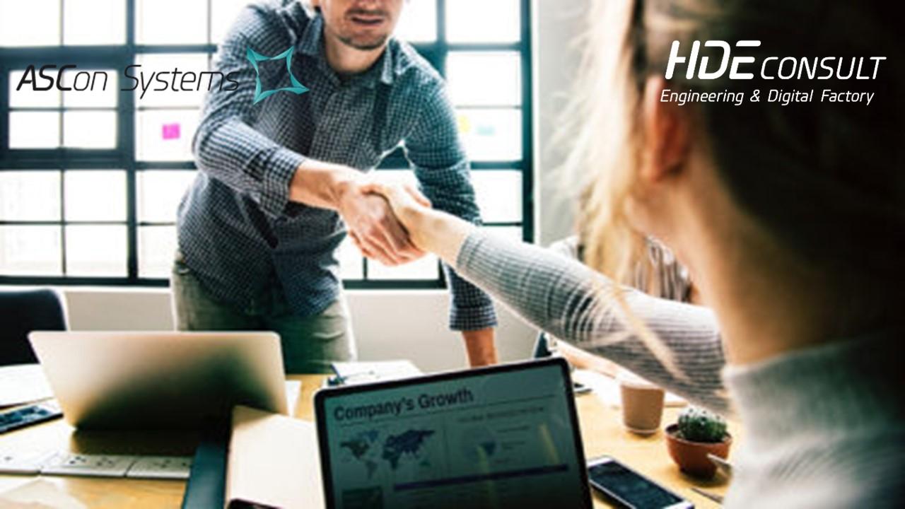 ASCon Systems GmbH beteiligt sich an der HDE Consult GmbH