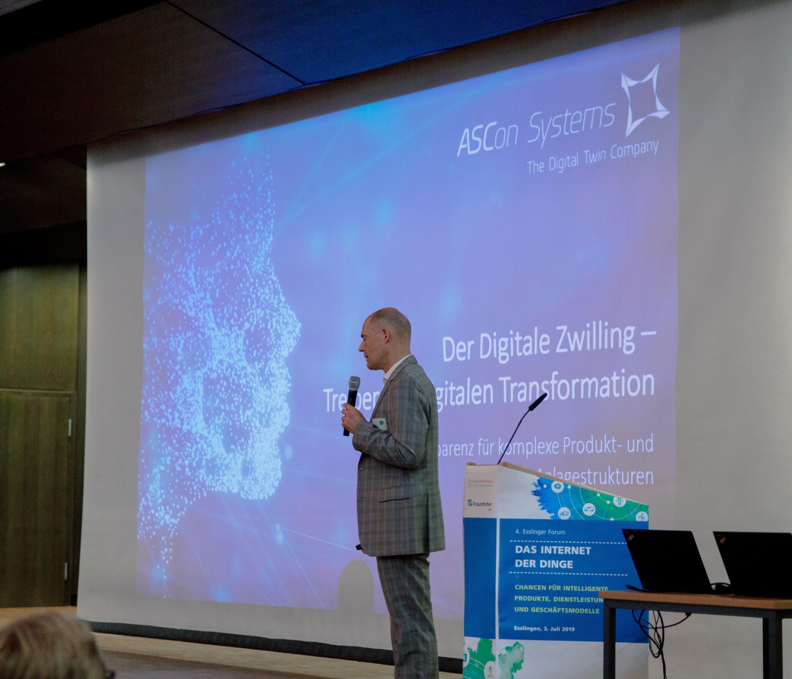 ASCon Systems auf dem 4. Esslinger Forum: Internet der Dinge