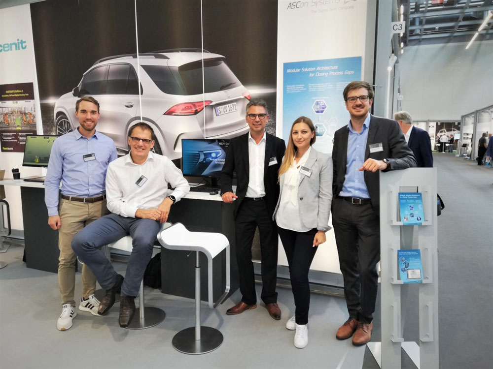 ASCon Systems as exhibitor at Daimler EDM CAE Forum