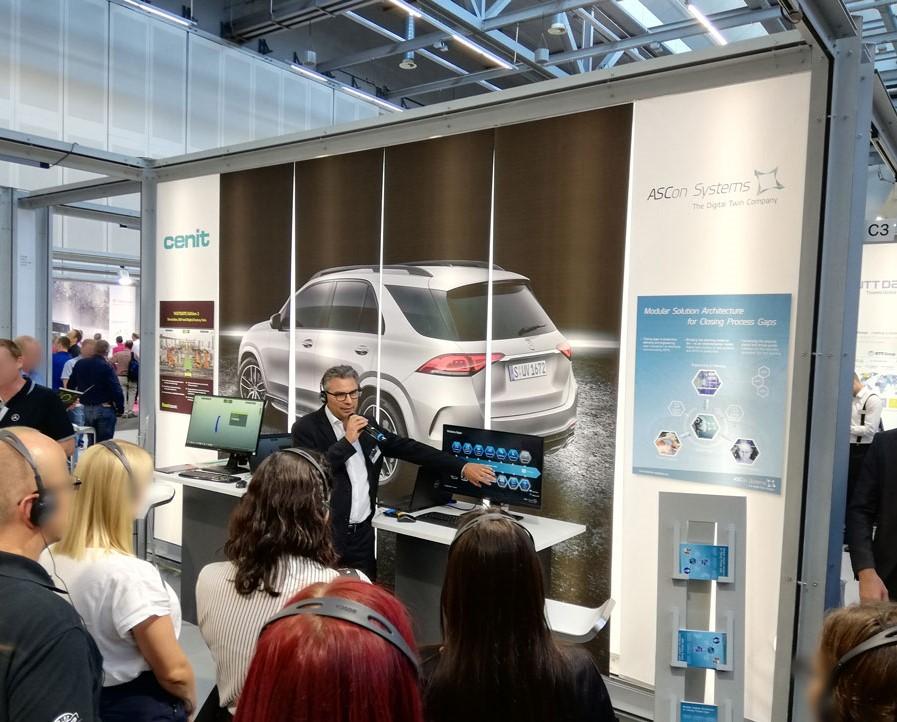 ASCon Systems as exhibitor at Daimler EDM CAE Forum