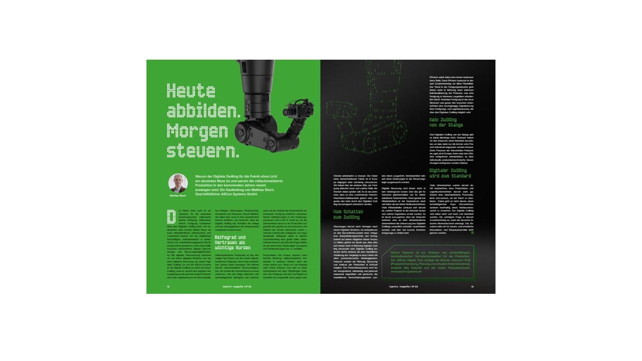 Neuer Gastbeitrag im Ingenics Magazine