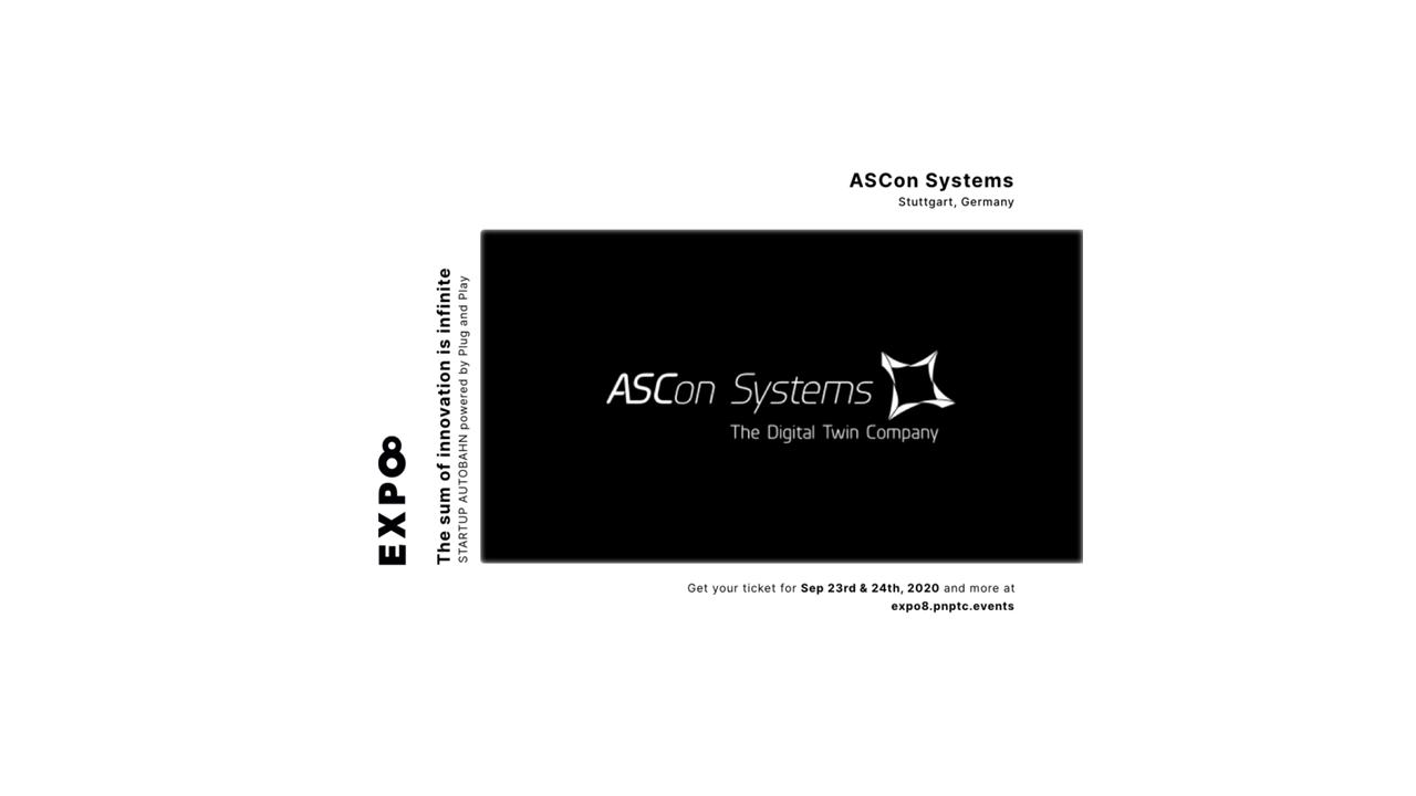 ASCon Systems ist Teil der STARTUP AUTOBAHN
