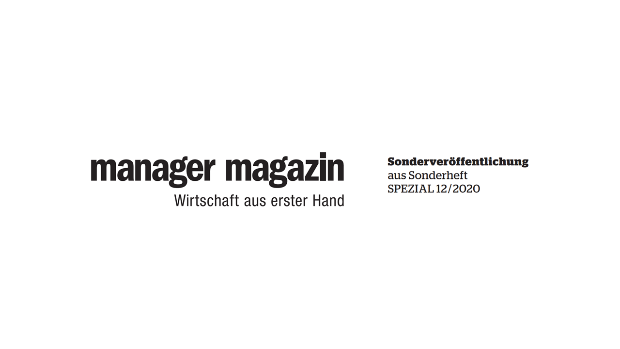 Special publication in Manager Magazin
